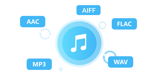 Apple Music in MP3, AAC, WAV, FLAC konvertieren