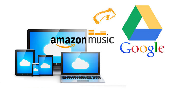 Songs von Amazon Music in Google Drive hochladen