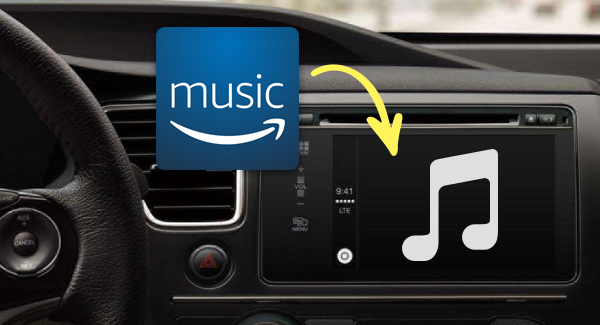 Song von Amazon Music Unlimited in Auto spielen