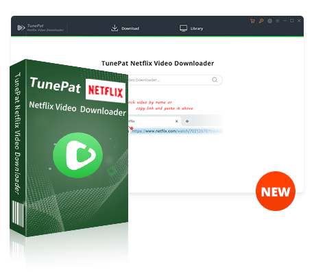 Überblick von TunePat Netflix Video Downloader