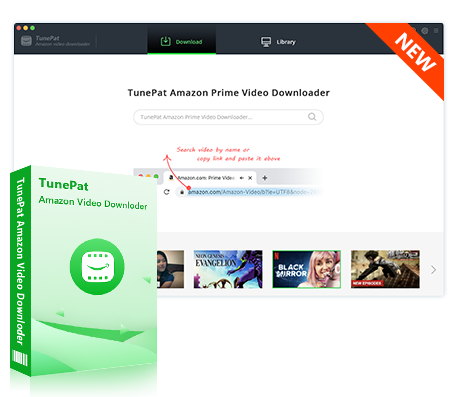 Überblick von TunePat Amazon Video Downloader